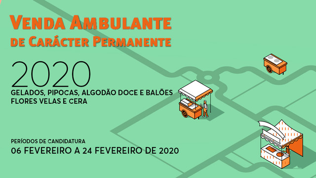 Venda Ambulante de Carácter Permanente 2020