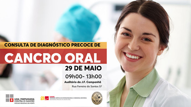 Consulta Gratuita de Diagnóstico Precoce do Cancro Oral